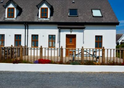 Front of the Hookless Holiday Home